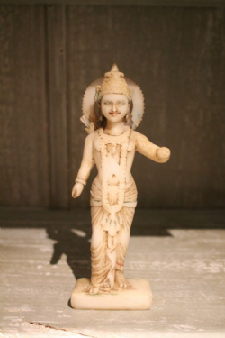 19th Century Marble carving of Krishna, God of Love